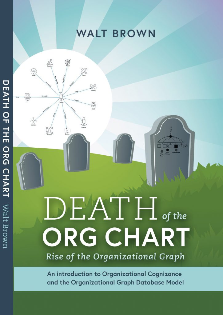 Cover of Death of The Org Chart Rise of the Organizational Graph